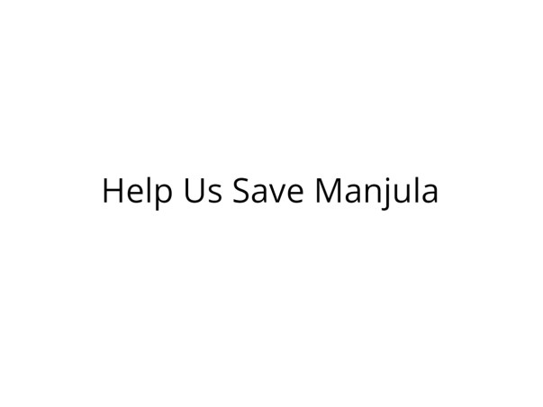 Help Manjula Fight Cancer