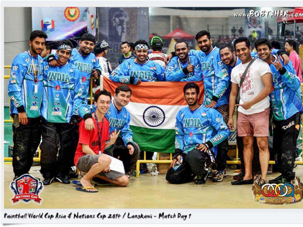 Indian Paintball Team