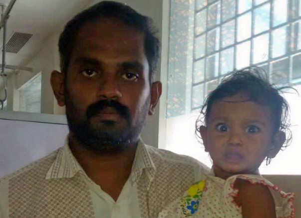 Make 9-Month-Old Shrinika Fight Cancer.