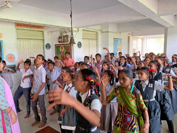 Theatre For Social Change;Project Kancha for#Rightochildhood in Sanand