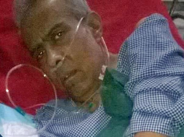 HELP MY RETIRED HUSBAND SAJANITOSH FIGHT BLOOD CANCER
