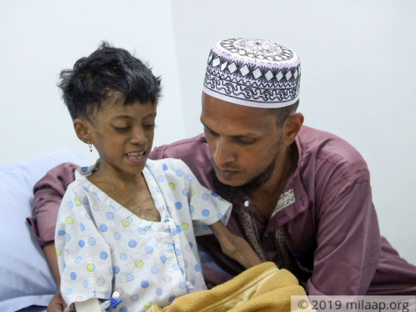 Help Zeenathun Recover From A Liver Problem