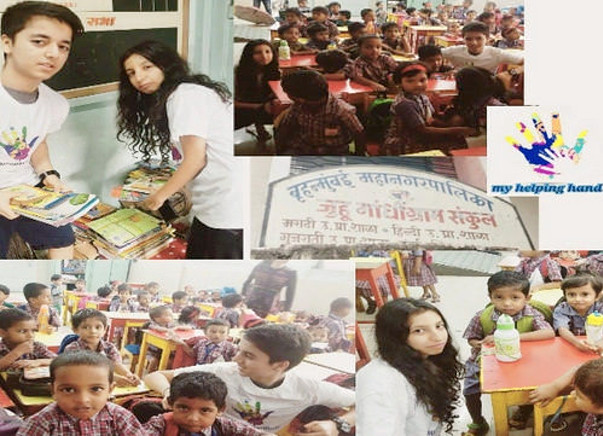 Help set up a library in a municipality school #ReadingRoomIndia