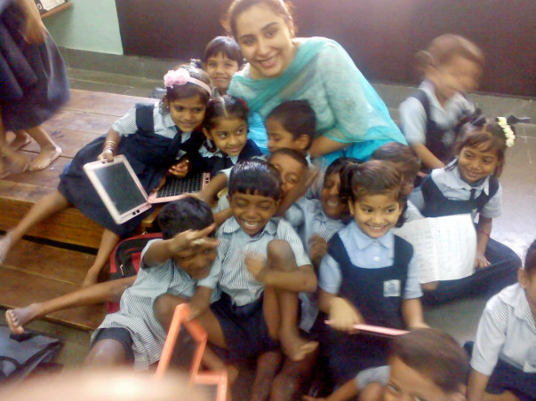 I am fundraising to reshape this low income school in Mumbai. Support this cause please!