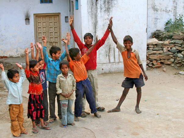 Help Prinston School In Rajasthan