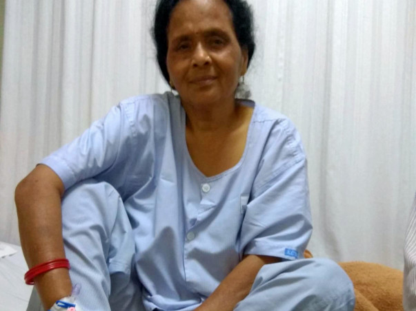 Help my Mother to Fight with Cancer