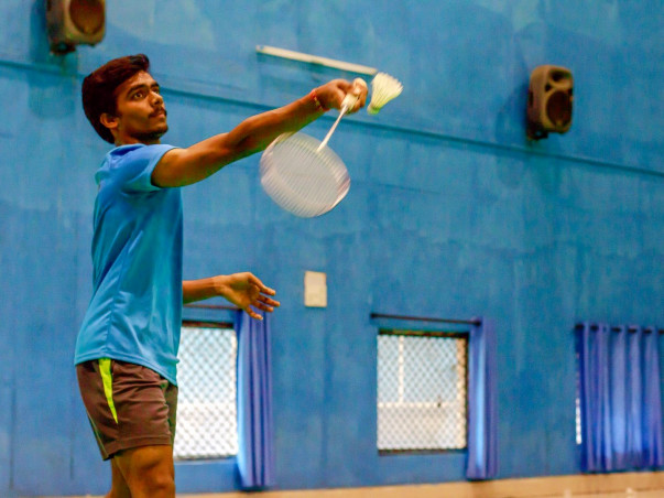 Badminton is like a drug for this 18 year old. He needs your support