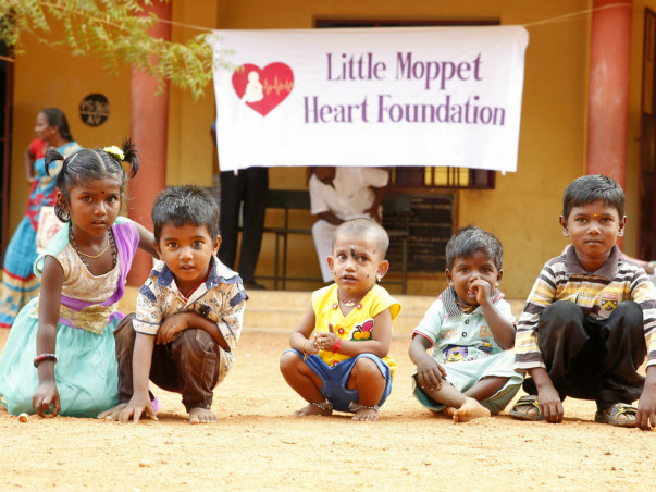 Help Little Moppet save rural children suffering from heart disease