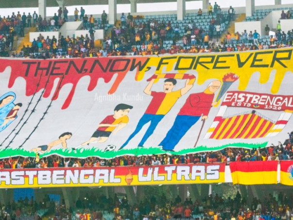 Contribute for 100 years Special TIFO For East Bengal