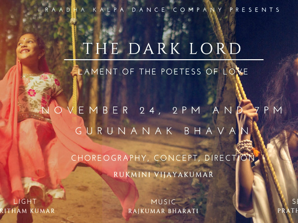 "Support the restaging of  ""The Dark Lord"""