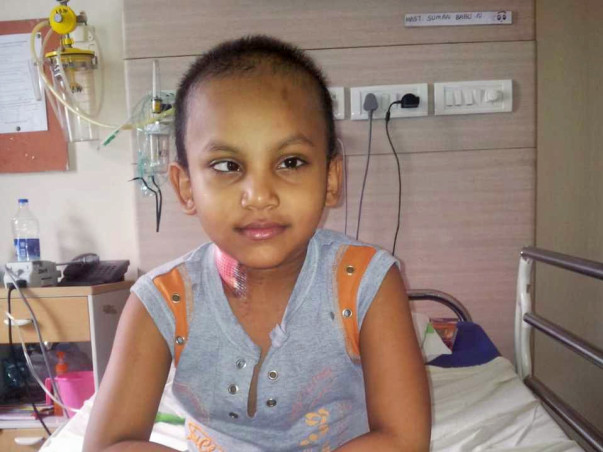 Help My Son Somanbabu To Fight Against Cancer
