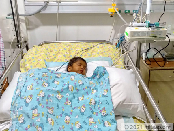 Help this 9-month-old boy fight a severe liver disease