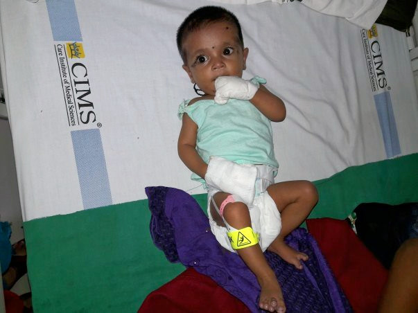 Help Twinkle's Baby Undergo An Open Heart Surgery