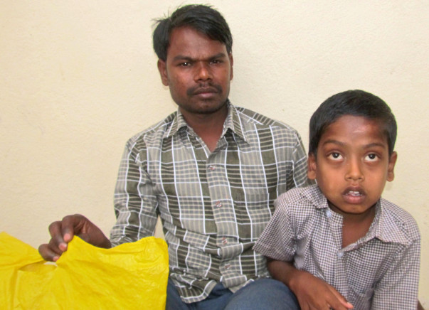 Help Nagaraj. The poor blind boy of Bijapur district needs help