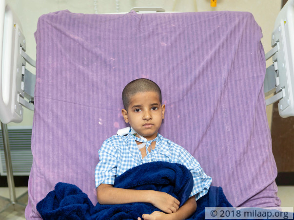 Help 9-year-old Mani Ram who needs chemotherapy