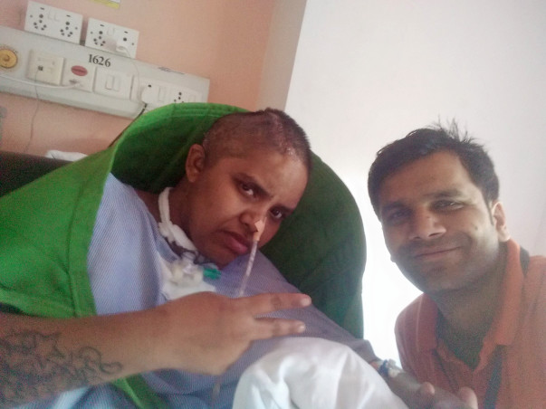 Help Rekha fight stroke and paralysis