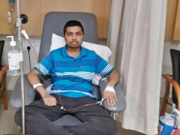 Help Sandipan fight Cancer