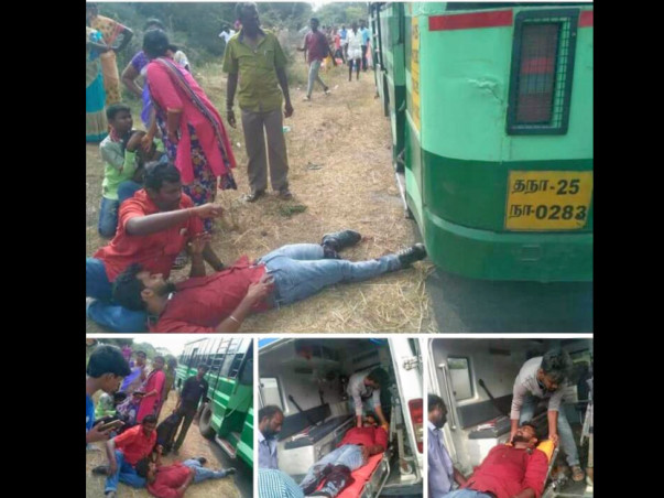 Help nagoor met with an accident and he is sole earning member in his fam