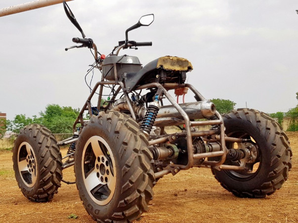 Help TEAM MECHAHOLICS build an ATV QUAD to conquer the rough terrains