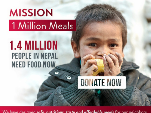 I am fundraising to deliver nutritious food in Nepal