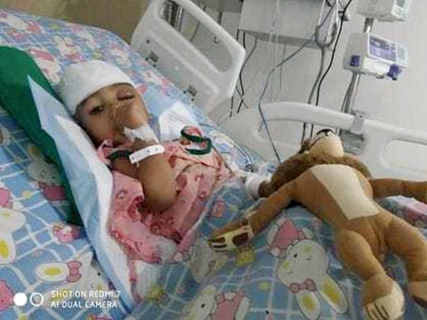 Help Deepa Sathish's 2-year-old Son Midhun Fight Brain Tumor (ATRT)