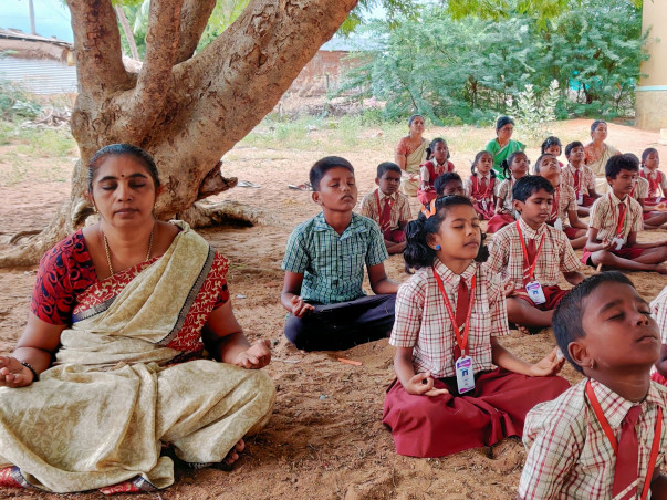 Bicycle Yogis: Support free Yoga for village schools across India