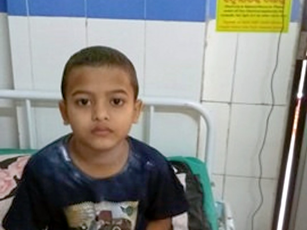 Help Swagat  Sahoo little boy suffering from Blood Cancer