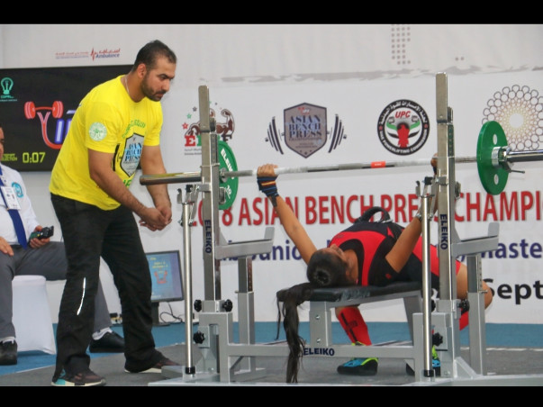Help Powerlifter Swathi to Make India Proud!