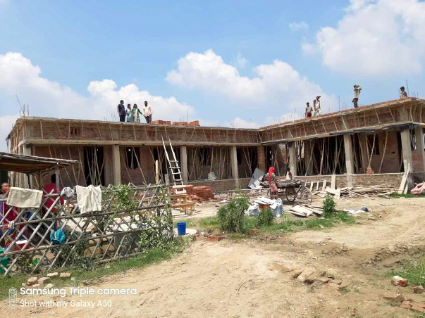 Help us to complete the school construction