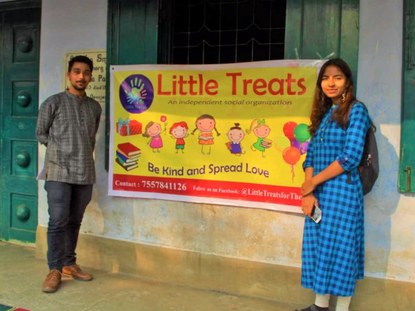 Little Treats: For the Deprived yet Deserving Children and Adults.