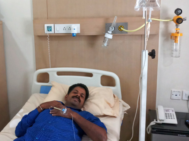 Give Godwin Raj Your Helping Hand To Overcome Cancer