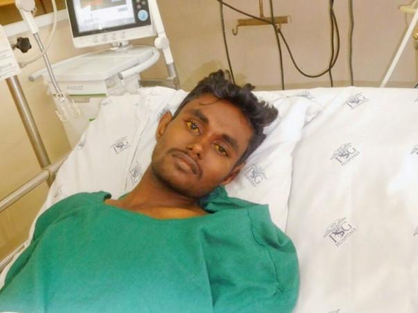 Help Anandaraj undergo a liver transplant