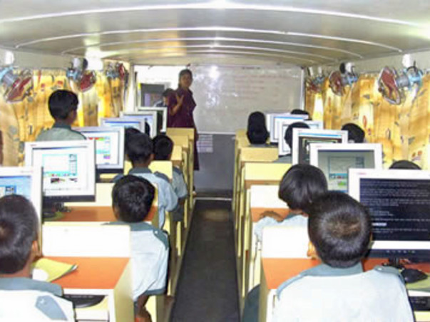 Mobile Computer Lab For Village