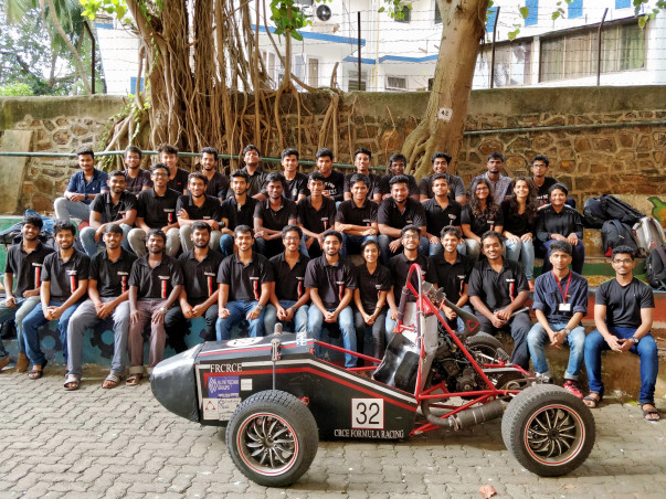 Support young Aspiring Engineers of Team CFR to Manufacture a Racecar