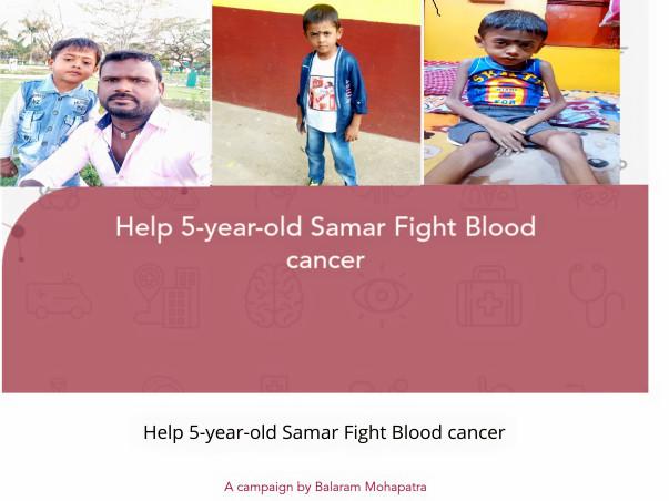 Help 5-year-old Samar Fight Blood cancer