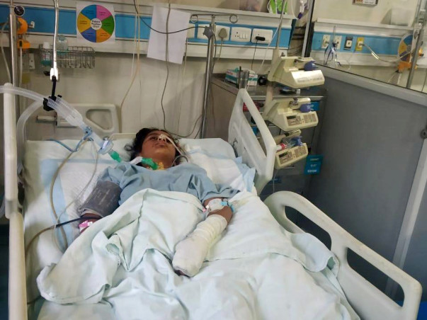 17 years old Anita needs your help fight Head injury and neurological shock