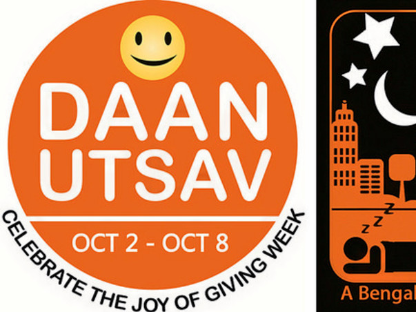 I am participating in Daan Utsav