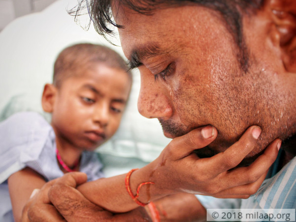 Labourer Travelled Over 2,000 km To Save His Son From Liver Cancer
