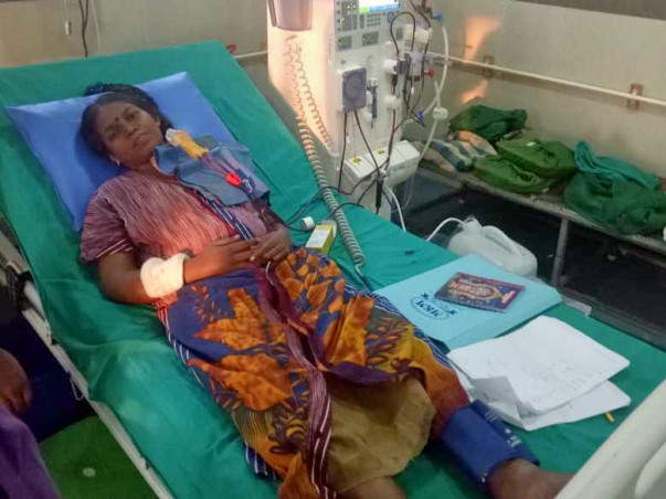 Support And Help Vanitha For Her Kidney Transplant