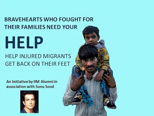 Support Sonu Sood In Helping Stranded Migrant Workers