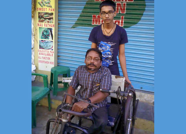 Help Venkata Sai Get Higher Education & A Disable Dad Finance crisis