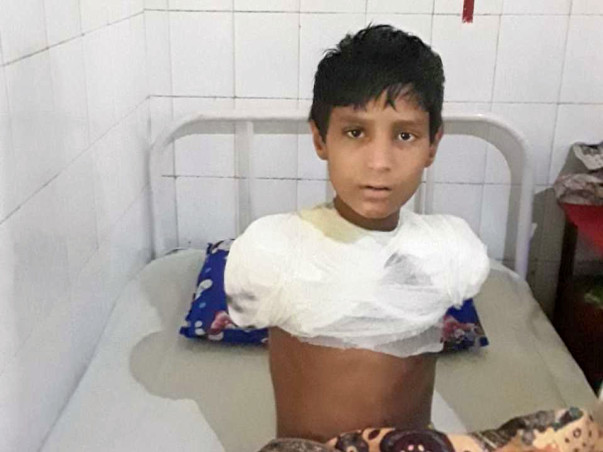 Help Sahil Recover from a Severe Electric shock