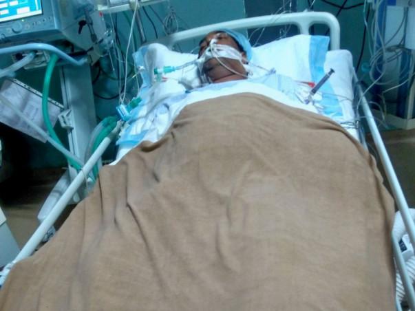 Help a widower with hospital bills