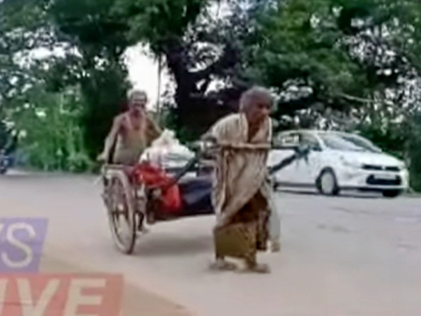 HELP THIS ELDERLY COUPLE TO BUILD A SMALL HOUSE FOR THEM