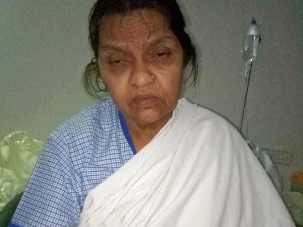 55 years old Noor Jahan Needs Your Help Fight Cancer