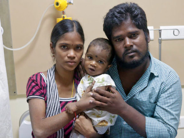 8 Months Baby Vignesh Suffering From Congenital Heart Disease