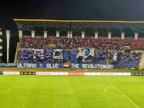 Blue Pilgrims Collaboration Tifo Fund - INDIA vs Bangladesh.