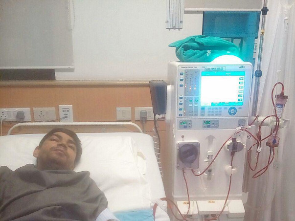 Save Ramesh, both kidneys failed, needs transplant - JNV Alumni, 37 yr