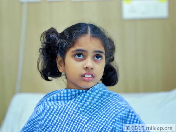 Chemotherapy treatment for little girl (Minhaz)