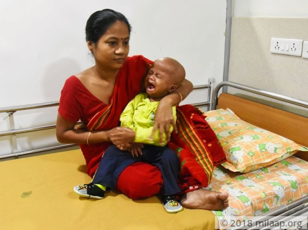 This Mother Needs Help To Save His 2-year-Old Son's Life From Cancer